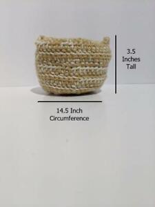Crocheted Mini Basket