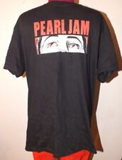 Pearl Jam Shirt L European Tour 2014 Europe Eyes - Lightning Bolt - Amsterdam