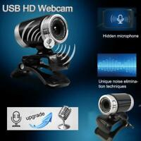 Practical USB 50MP HD Webcam Web Cam Camera for Computer PC Laptop Desktop Black