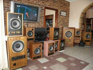 TANNOY Super Red Monitor SRM 10b dual concentric speakers Gold Drivers Monitors