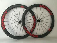 700C Clincher Carbon Road Wheel 50mm Bike Carbon Wheelset Race Bicycle Wheels