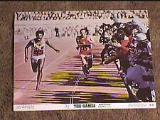 GAMES 1970 LOBBY CARD #2