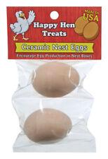 Happy Hen Treats Ceramic Nest Eggs Brown 17055 855297003100