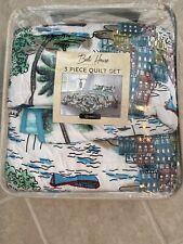 Bali House Design Co 3 Piece Queen Quilt Set Havana Bed Spread