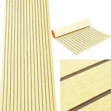 Flooring Synthetic EVA Foam Teak Sheet Boat Decking  Self-Adhesive Anti Friction