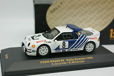 Ixo 1/43 - Ford RS200 Suede Rallye 1986