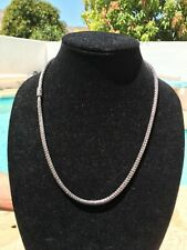 """John Hardy Necklace 23"""" Long 6.4MM Classic Chain Solid Sterling Silver"""