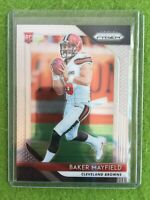 BAKER MAYFIELD PRIZM JERSEY #6 ROOKIE CARD BROWNS 2018 Panini Prizm #201 True RC
