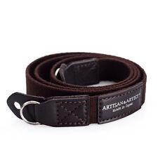 Artisan & Artist Camera Strap for Leica & Premium Compacts. ACAM 102 BROWN