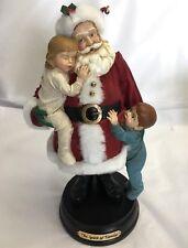 "Midwest Cannon Falls 13"" Christmas Santa & Kids Spirit of Family Figure Statue"