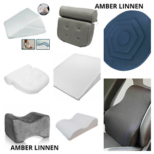 Orthopaedic Memory Foam Contour Leg,Knee,Back,Neck,Head support cushions