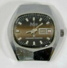 """With Date & Unbreakable Mainspring Vintage """"Bolivia"""" """"Electra"""" Men'S Wristwatch"""