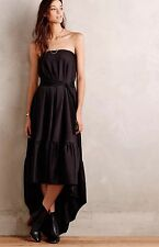 NEW $428 Eukleid Tube Maxi Dress Black Gown Size 34 Hoss INTROPIA