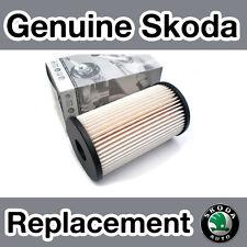 Genuine Skoda Octavia MKII (1Z) Diesel (06-) Fuel Filter