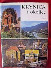 KRYNICA I OKOLICE - KRUPIŃSKI, 1992, POLISH BOOK, ALBUM ___________