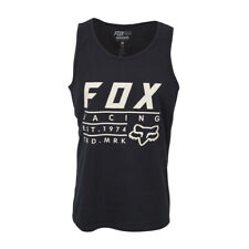 FOX RACING MENS ESTABLISHED TANK TOP BLACK