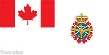 "CANADIAN CANADA FORCES ENSIGN FLAG ARMY 5"" HELMET BUMPER DECAL STICKER USA MADE"