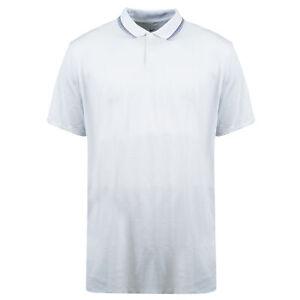 Nike Men's Big & Tall Standard Fit Short Sleeve Dri Fit Polo Gray Size XL Tall