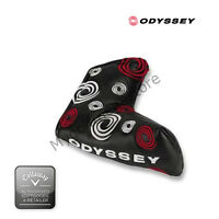 Odyssey Putter Headcovers-4 types of Funky Head Covers For blade or Mallet-New.