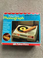 Vintage Fisher Price Record Player 33/45 RPM in Box