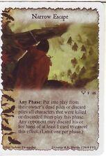3 x Narrow Escape AGoT LCG 1.0 Game of Thrones Kings of the Sea 48