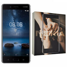 Nokia 8 4g 64 GB Silver 5 3'' Dual SIM Smartphone 4gb RAM 13 MP Carl Zeiss