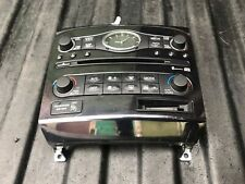 INFINITI FX30 FX35 FX50 QX70 2011 Radio ASSEMBLY & AC CONTROLS OEM CLOCK