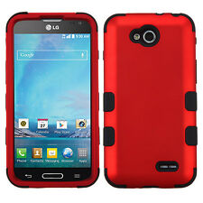 For T-Mobile LG Optimus L90 IMPACT TUFF HYBRID Case Skin Phone Covers Accessory