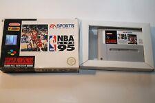 NBA Live 95 - Super Nintendo SNES Modul + Hülle EA Sports