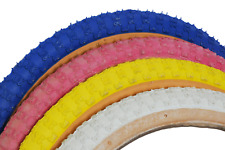 "20"" x 1.75"" Compe 3 III BMX Retro Old School Freestyle Ramp Bike Gumwall Tyres"