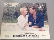 PHOTO D'EXPLOITATION (LOBBY CARD) : ESTOUFFADE À LA CARAÏBE
