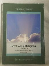 New The Great Courses Great World Religions: Hinduism (2003) 2 Dvds & Guidebook