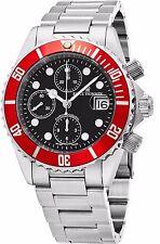 Revue Thommen Men's Diver Black Dial Chronograph Automatic Watch 17571.6136