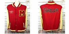 Michael Jackson Thriller This Is It Tour Letterman Varsity Jacket Hot Topic SZ L