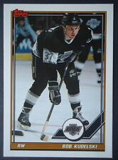 NHL 61 Bob Kudelski Los Angeles Kings TOPPS 1991/92