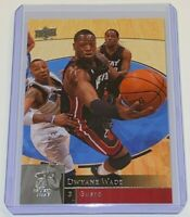 2009-10 Upper Deck Dwyane Wade #95 🏀 NBA Miami Heat Basketball Card 🏀 Sharp!