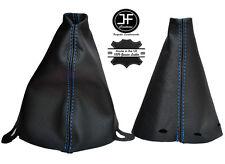 For Bmw Mini Cooper R56 R57 Clubman R55 Shift /& E brake Boot Leather Red Stitch