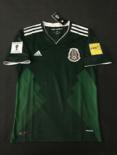 Mexico Soccer Jersey Verde Home Shirt 2017 World Cup Qualifers Small