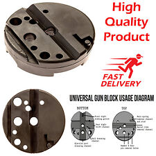 Universal Gunsmithing Bench Block Handgun Pistol M1911 10/22s Style Reassemble