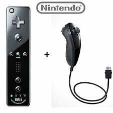 Nintendo OEM wii/Wii U Remote Plus Controller And Nunchuk Nunchuck Combo 0Z