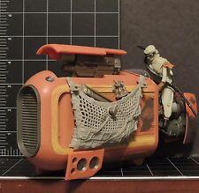 Star Wars Force Awakens Rey's SPEEDER Jakku New Loose 1:18 scale scavenger ship