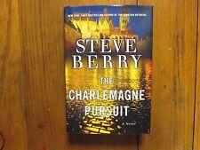 "STEVE  BERRY  Signed  Book (""THE CHARLEMAGNE  PURSUIT""-2008 1st Edition Hardback"