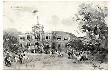 CARTOLINA MILANO EXPO 1906 -ACQUARIO - VG 1906