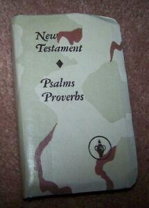 POCKET BIBLE, DESERT SHIELD / STORM, U.S. ISSUE *NICE* #4