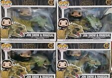 Funko Pop! GAME OF THRONES JOHN SNOW AND RHAEGAL NUOVO SIGILLATO