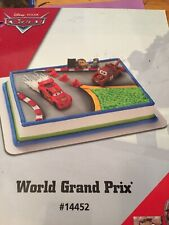 Disney Cars World Grand Prix Cake Kit