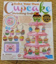 BN Cupcake Shrinkles Kit To Make Earrings, Charms