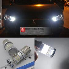 2X Reflector 48 LED Bulb For Mitsubishi Lancer Evo 2008-2014 Daytime DRL Light