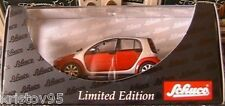 SMART FORFOUR ROUGE & ARGENT SCHUCO 1/43 GERMANY SILBER