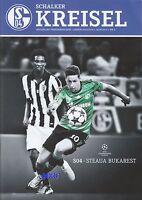 Schalker Kreisel + 18.09.2013 + FC Schalke 04 vs. Steaua Bukarest  + Programm +